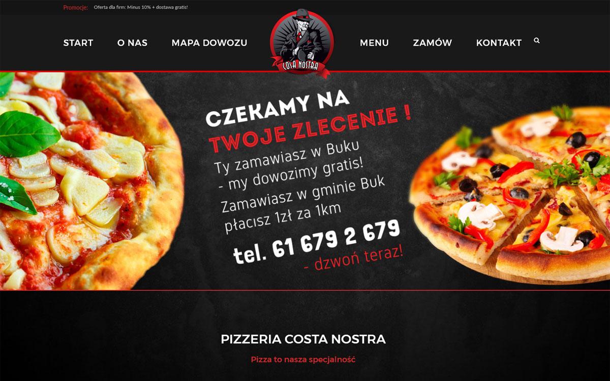 Pizzeria Cosa-Nostra Buk